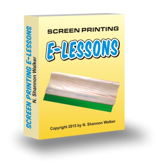 T-shirt printing E-lessons