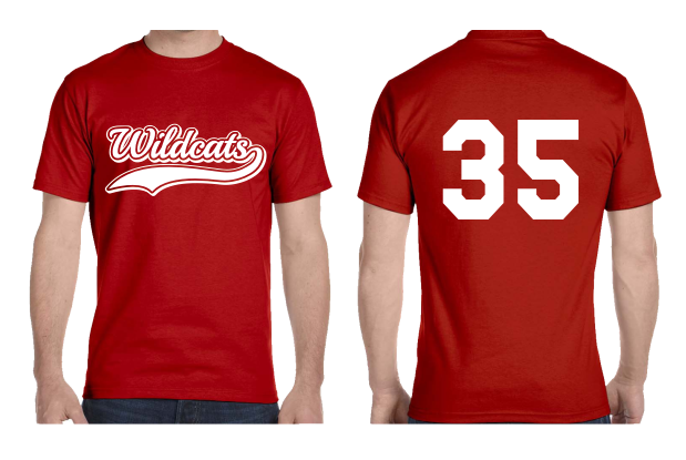softball uniform t-shirts